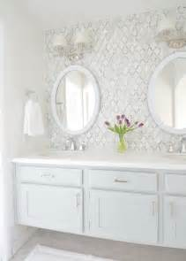 How To Install A Backsplash In Kitchen Master Bathroom Vanity Makeover Centsational
