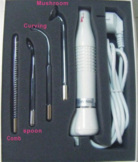 Power Wand Thermal Oxygeneting Skin Care System 8kdg bp 7000 portable high frequency