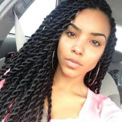 senegalese twist using marley hair large senegalese twists for the curls pinterest