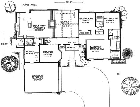 hollis 2432 3 bedrooms and 2 baths the house designers 28 hollis 2432 3 bedrooms and hollis 2432 3