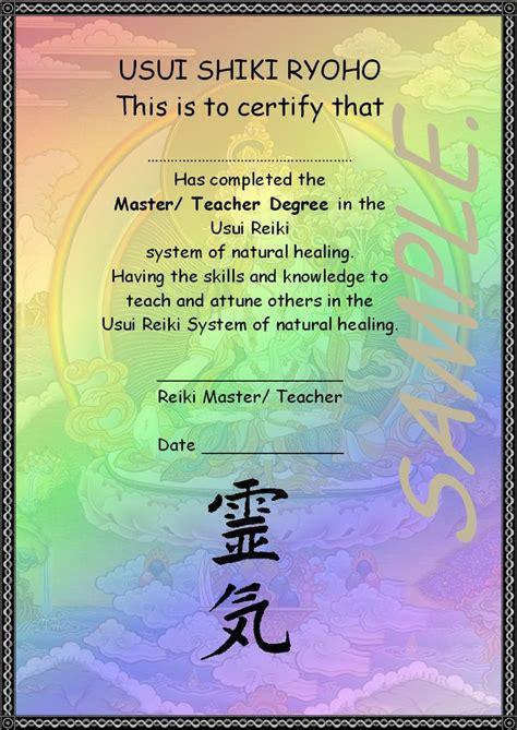 reiki certificate template 21 best reiki images on award certificates