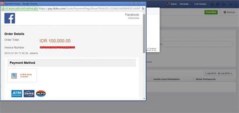 cara membuat toko online dengan pembayaran kartu kredit cara beriklan di facebook dengan sistem pembayaran bank