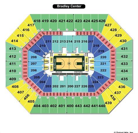 bmo harris seating chart bmo harris bradley center milwaukee wi seating chart view