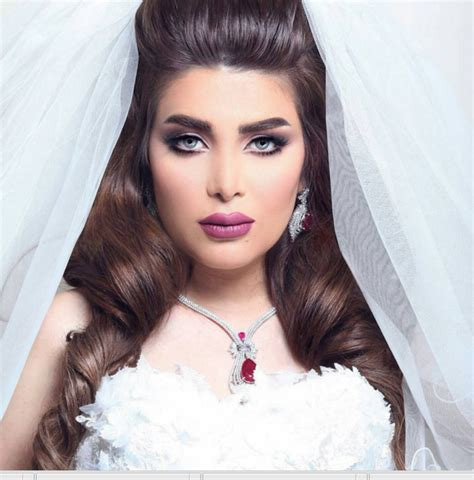 Stunning Bridal Makeup By Kuwaiti Makeup Artist   Arabia Weddings