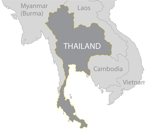 map thailand thailand walking tree travel and adventure