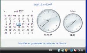 horloge et calendrier pour ordinateur gratuit