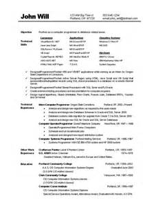 Job Resume Computer Skills by Computer Skills To List On Resume Free Resume Templates