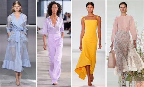 biggest trends of spring 2018 fashion magazine trending top color trends for spring 2018 mywhitet