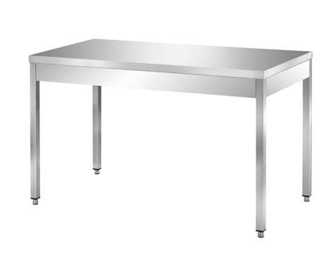 tavolo in acciaio inox tavoli in acciaio inox su gambe ondainox