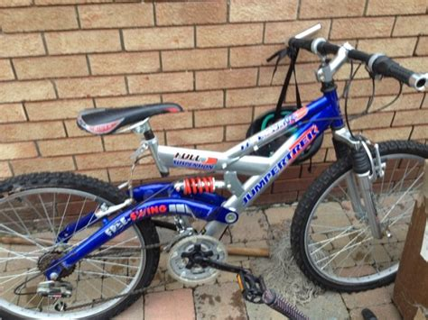 swing bikes for sale jumpertrek free swing full suspension 19 inch wheel bike