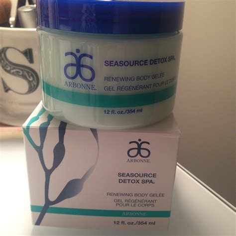 Arbonne Seasource Detox Spa Gelee by Honest Review Arbonne Seasource Detox Spa Renewing