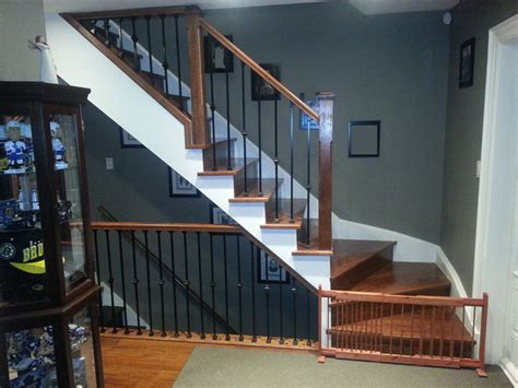 solid banister winder stairs renew stairs