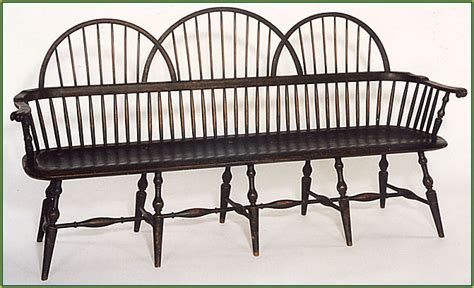 Hudson Settee Windsor Chairs Windsor Chairs Amp Fine Woodworking Workshops
