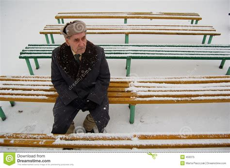 man on the bench old man sitting on the bench royalty free stock photo