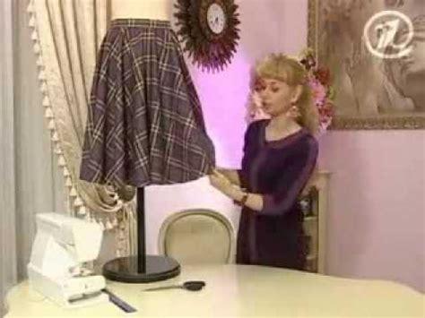 como combinar una falda larga como hacer una falda circular escocesa youtube