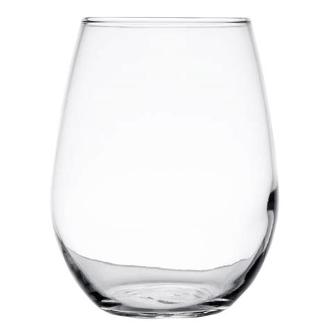 stemless wine glasses libbey 217 12 oz stemless white wine glass 12 case