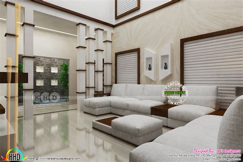 modern interior design works  kerala kerala home