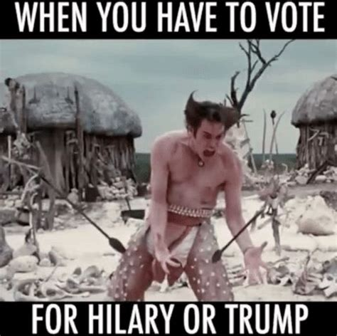 Ace Ventura Meme - new trending gif on giphy trump ace ventura hilary jim