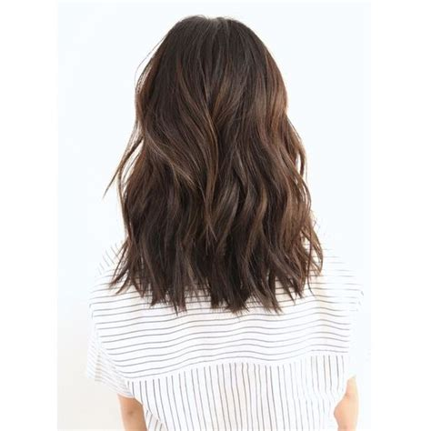 blunt cut with minimal layers cut minimal layers blunt cut with minimal layers brunette