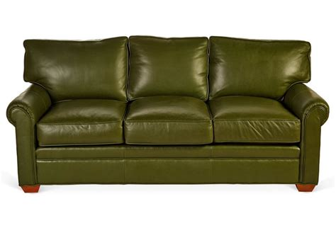 Green Leather Sofa Smileydot Us Green Leather Sofas