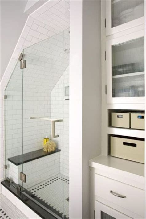 Storage Ideas For Small Bathrooms With No Cabinets by 38 Practical Attic Bathroom Design Ideas Digsdigs