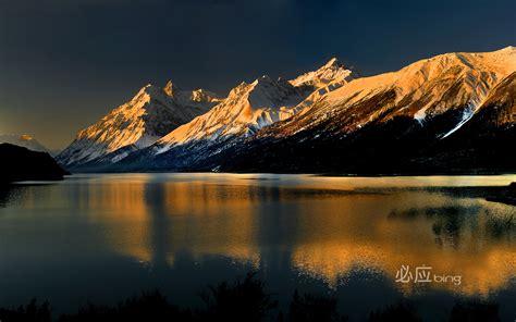 bing imagenes wallpapers full hd ranwu lake in tibet hd wallpapers