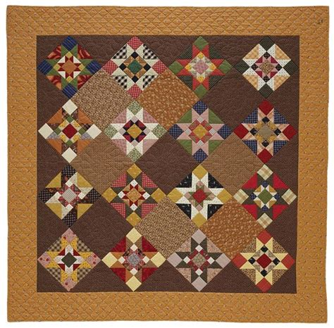 American Patchwork Quilting Patterns - living in the past quilting pattern from the editors of