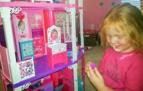 how to make a big barbie doll house living large at the barbie dreamhouse clever housewife