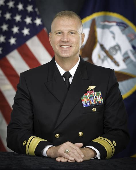 rear admiral larry chambers usn american to command an aircraft carrier books dvids images official portrait of commander naval