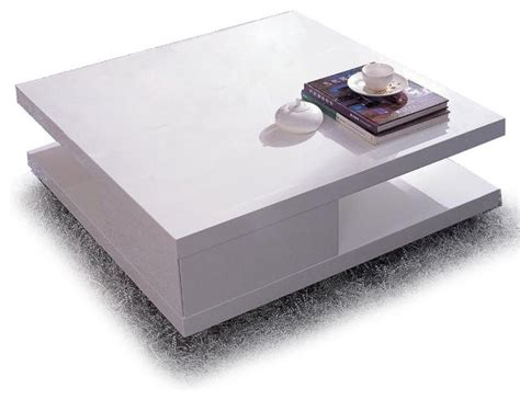 Modern Square Coffee Table Modern White Square Coffee Table Mito Modern Coffee Tables Other Metro By Furnillion