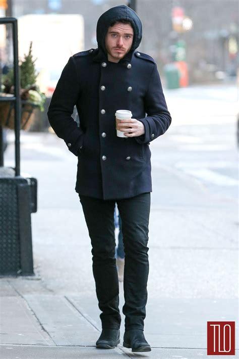 Richard Madden in New York City   Tom   Lorenzo