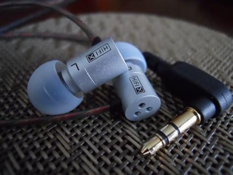 Termurah Knowledge Zenith Metal Tru Sound In Ear Earphones With binmer tm kz hds1 mini metal diy headset hd dynamic