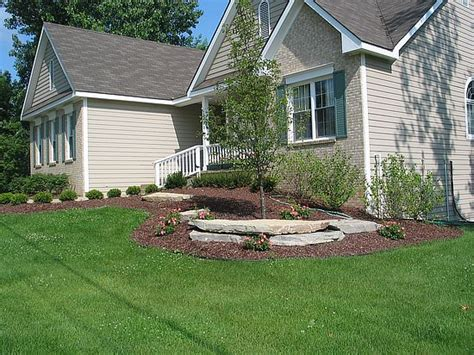 landscape curb appeal michigan residential landscapes