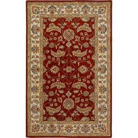 rugs with red accents home decorators collection corolla red 2 ft x 3 ft