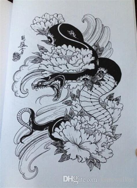 tiger hawk snake painting tattoo books by horimouja jack