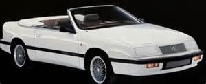 White Chrysler Lebaron Chrysler Lebaron Car Photo Gallery
