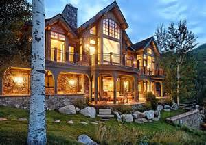 aspen home 16 million mountaintop mansion in aspen co homes