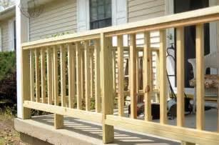 Pressure Treated Handrail Porch Railing Cabin Fever Pinterest