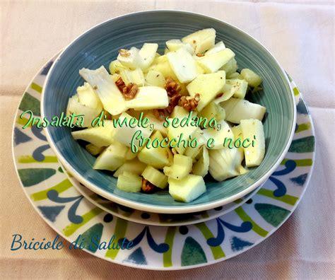 insalata di sedano e noci insalata di mele sedano finocchio e noci briciole di