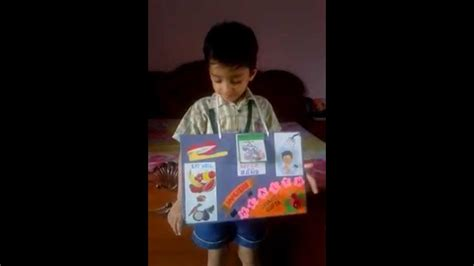 ideas for kindergarten show and tell devansh final preparation for show and tell competition on