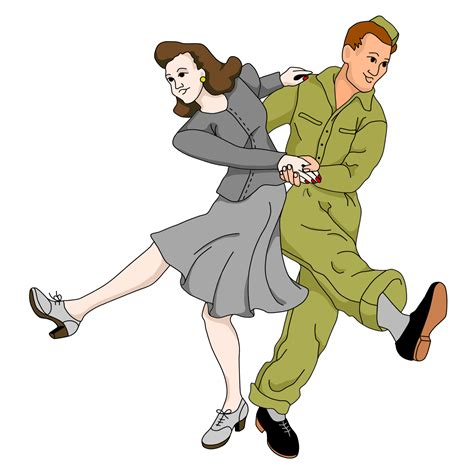 swing dance clip art leeann james