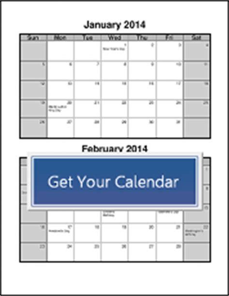 bi monthly calendar template | calendar template 2018