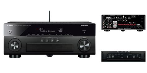 yamahas aventage av receiver supports  dolby atmos