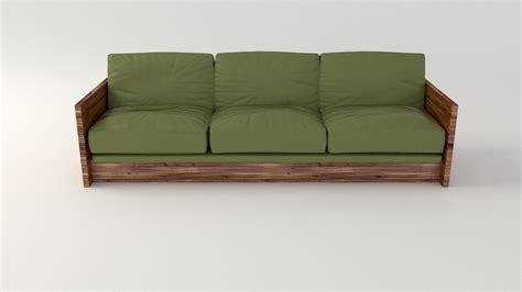 olive sofa olive sofa 3d model obj fbx stl blend dae cgtrader com