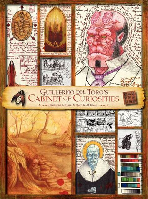 cabinet of curiosities book guillermo del toro cabinet of curiosities review sffworld