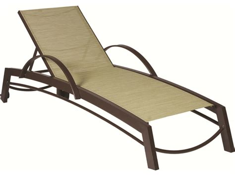 outdoor chaise lounge with wheels suncoast vectra curv sling chaise lounge with wheels e593