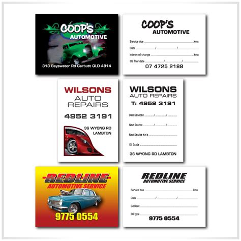 Car As A Service by Auto Service Stickers Car Service Stickers