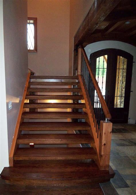 rustic staircase rustic staircase design artistic stairs