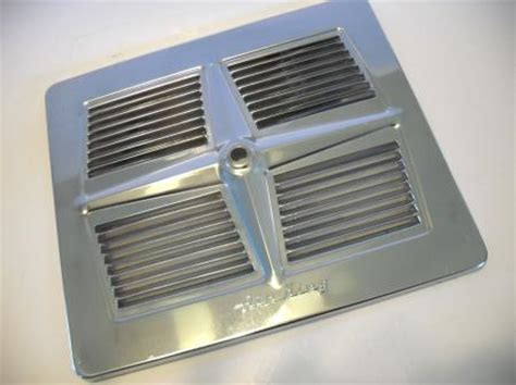 Kitchen Aire Exhaust Fan Vintage Berns Air King Chrome Louvered Exhaust Fan Cover