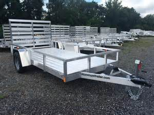 Dump Bed For Sale 2016 Atc 6x12 Aluminum Utility Northpoint Trailers